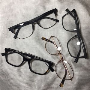 Accessories - Clear Lenses Trendy Glasses